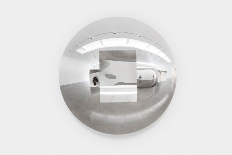Anish Kapoor, Concave Convex Mirror (Rectangle), 2019 , Regen Projects