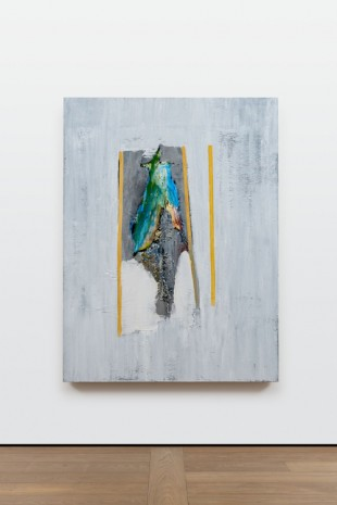 Erik Lindman, Parrot (Orange Stripes), 2018, Almine Rech