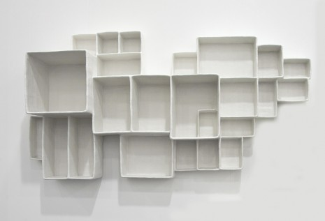 Andrea Zittel, A-Z Aggregated Stacks # 7, 2012, Luhring Augustine