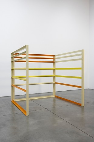 Liam Gillick, Elevation Structure, 2003, Luhring Augustine