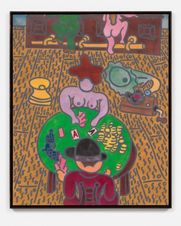 William N. Copley, Card Players, 1981, Galerie Max Hetzler