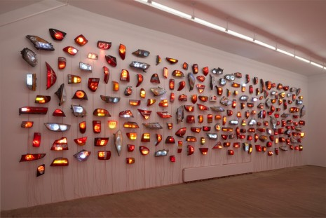 Madeline Hollander, Heads/Tails: Walker & Broadway 1, 2020 , Bortolami Gallery
