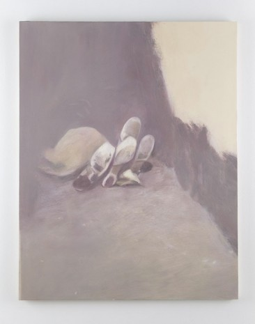 Julia Schmidt, Figuration II (hide-out), 2012, Casey Kaplan