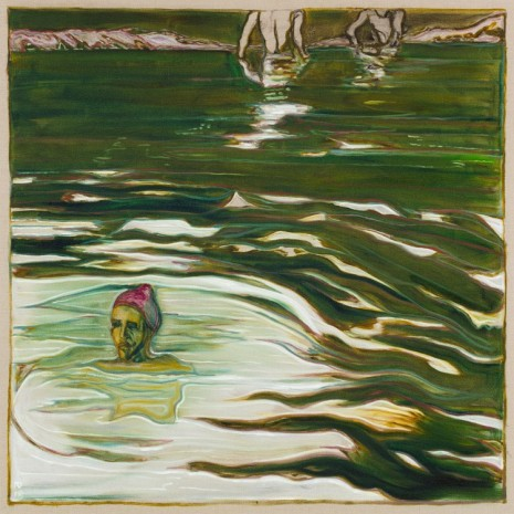 Billy Childish, swimmers, 2018 , Lehmann Maupin