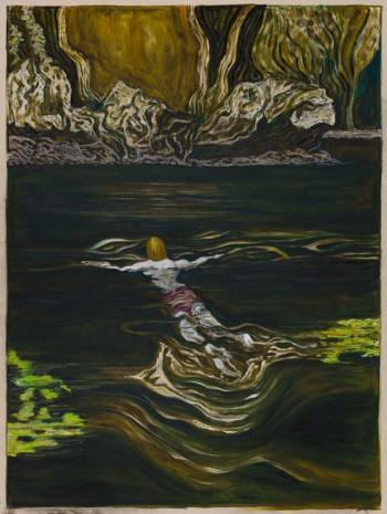 Billy Childish, toward a shore, 2019 , Lehmann Maupin