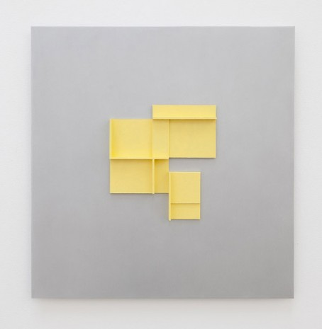 Toby Paterson, Naples Yellow Maquette, 2019 , The Modern Institute