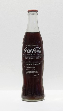 Cildo Meireles, Insertions into Ideological Circuits: Coca-Cola Project (Yankees Go Home), 1970 , Anton Kern Gallery