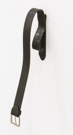 Monica Bonvicini, Belt Exercise #5, 2018 , Galleria Raffaella Cortese