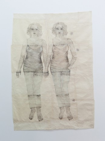 Kiki Smith, Two Girls, 2009 , Galleria Raffaella Cortese