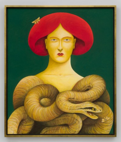 Nicolas Party, Portrait with Snakes, 