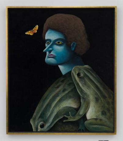 Nicolas Party, Portrait with Frogs, 2019 , Hauser & Wirth