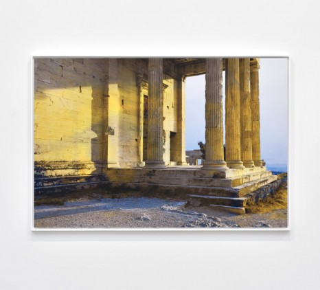 James Welling, Erechtheion. Sunset, 2019 , Marian Goodman Gallery