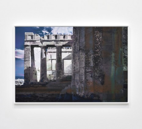 James Welling, Propylaia. Facing North, 2019 , Marian Goodman Gallery