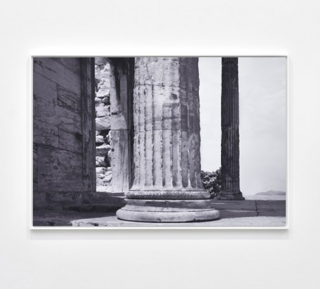 James Welling, Erechtheion. North Porch, 2019 , Marian Goodman Gallery