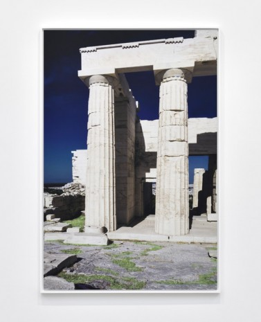 James Welling, Propylaia. South Pteron, 2019 , Marian Goodman Gallery