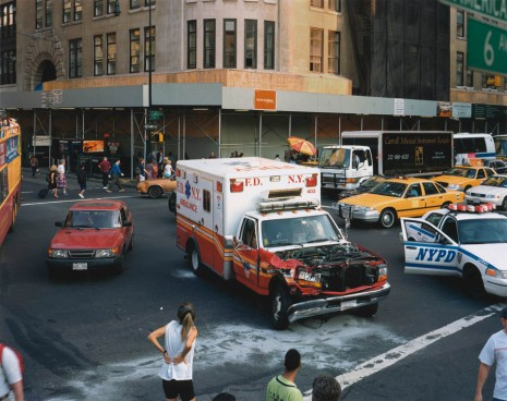 Roe Ethridge, Ambulance Accident, 2000 , Gagosian