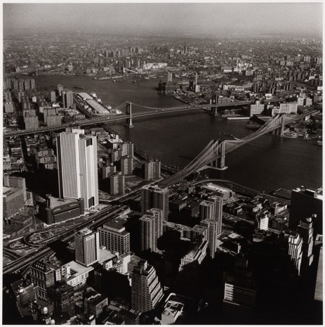 Peter Hujar, View from the World Trade Center, 1976 , Galerie Buchholz