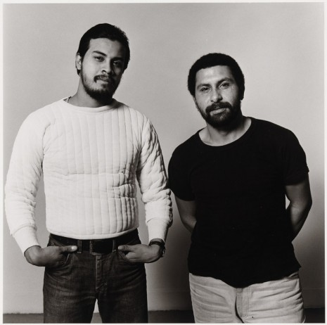 Peter Hujar, Manny I and Manny II (Two Puerto Ricans), 1981 , Galerie Buchholz