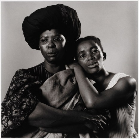 Peter Hujar, Sophie MgCina and Thule Dumakunde - South African Play 'Poppie Nogena', 1983 , Galerie Buchholz