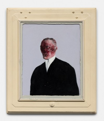 LLyn Foulkes, Portrait of Somebody, 1985 , Xavier Hufkens