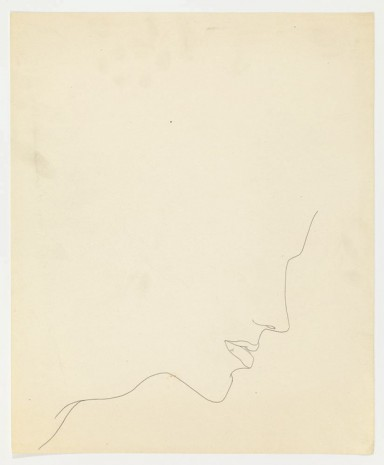Andy Warhol, Nose, Mouth and Neck, ca. 1955 , Anton Kern Gallery