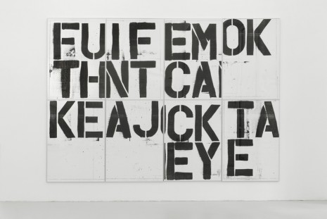 Christopher Wool, Untitled (Billboard Graz), 1991/2019 , Luhring Augustine