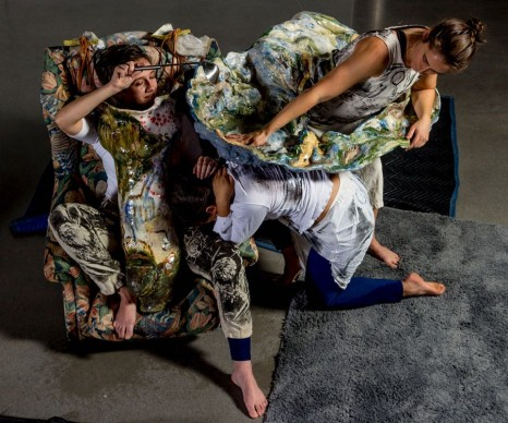 Jessica Jackson Hutchins, Labor Motherhood and Art in 2020 [Performance Still], , Marianne Boesky Gallery