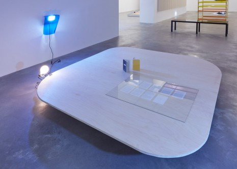 Liam Gillick, Prototype Ibuka! Coffee Table/Stage (Act 1), 1995 , Casey Kaplan
