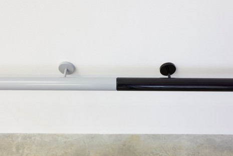 Liam Gillick, Restricted Roundrail (Grey, Ivory, White, Black), 2012, Casey Kaplan