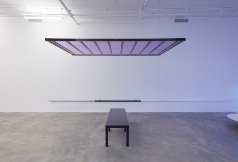 Liam Gillick, Discussion Bench Platform Black, 2010 , Casey Kaplan