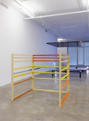 Liam Gillick, Elevation Structure, 2003 , Casey Kaplan