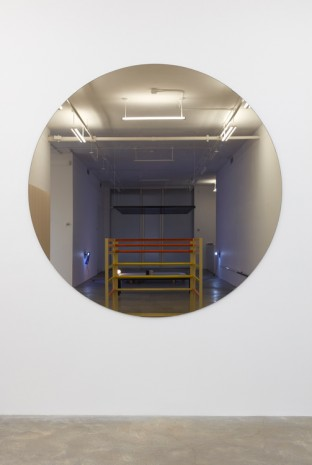 Liam Gillick, A Search for the Centre Kept in Check by Violence, Disorder and Conspirary, 1998 , Casey Kaplan