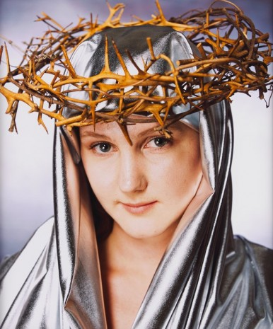 Andres Serrano, Our Lady of Thorns I (Holy Works), 2011 , Galerie Nathalie Obadia