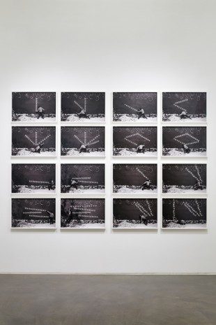 Robin Rhode , Four Plays, 2012–2013 , Lehmann Maupin