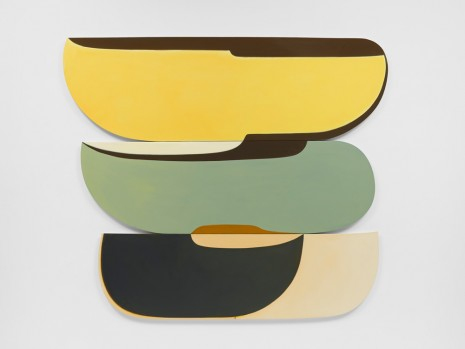 Joanna Pousette-Dart, 3 Part Variation #4 (Triptych), 2012-13 , Lisson Gallery