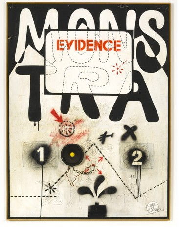 Jeff Keen, Mostra Evidence , 1967, Frith Street Gallery