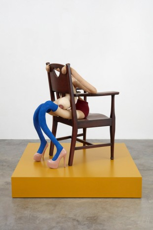Sarah Lucas, WHY SHOULD I?, 2019 , Gladstone Gallery