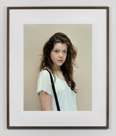 Rineke Dijkstra, Georgie Henley, London, UK, October 9, 2010 , Marian Goodman Gallery