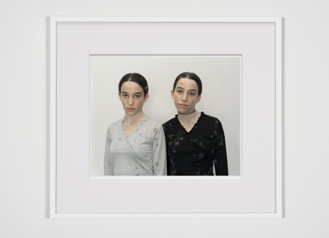 Rineke Dijkstra, Chen and Efrat, Israel, 16 Dec. 2000, 2000 , Marian Goodman Gallery