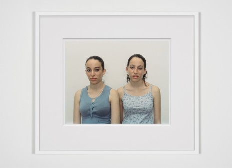 Rineke Dijkstra, Chen and Efrat, Herzliya, Israel, March 4, 2002 , 2002 , Marian Goodman Gallery