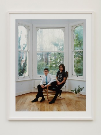 Rineke Dijkstra, Arden and Miran, London, February 16, 2020, 2020 , Marian Goodman Gallery