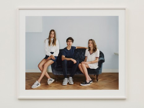 Rineke Dijkstra, Alice, Hendrik and Catharina, Amsterdam, May 23, 2018, 2018 , Marian Goodman Gallery