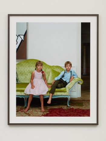Rineke Dijkstra, Albertine and Andras, Untersiemau, Germany, August 23, 2016, 2016 , Marian Goodman Gallery