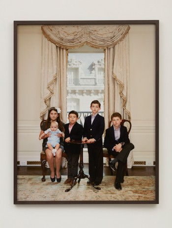 Rineke Dijkstra, The Grandchildren of Denise Saul, New York, October 15, 2012, 2012, Marian Goodman Gallery