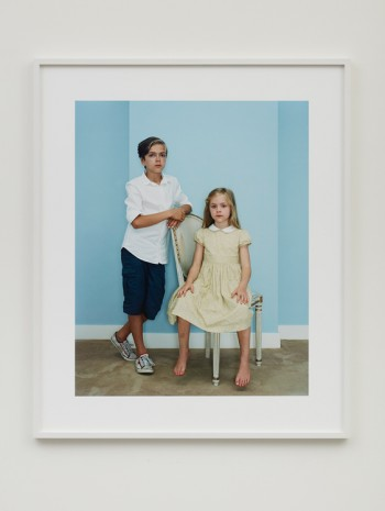 Rineke Dijkstra, Philip and Julie, Amsterdam, The Netherlands, July 5, 2014, 2014 , Marian Goodman Gallery
