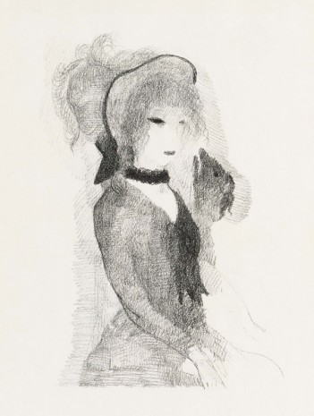 Marie Laurencin, Jeune femme au chien (Young Woman with a Dog), 1923 , Galerie Buchholz