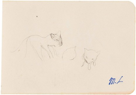Marie Laurencin, Untitled [The Kittens], n.d. , Galerie Buchholz