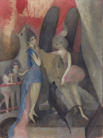 Marie Laurencin, Le Cirque (The Circus), 1920 , Galerie Buchholz