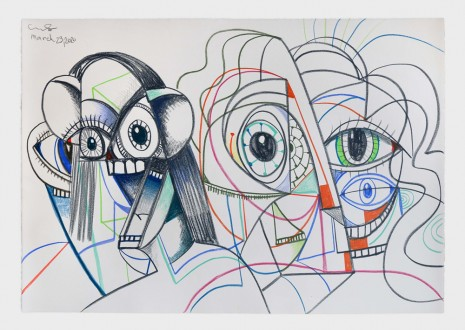 George Condo, Parallel Lives, 2020 , Hauser & Wirth