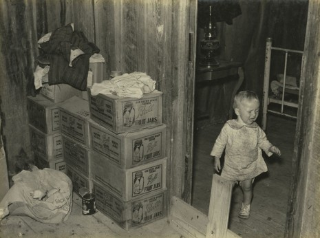 Russell Lee, Combination Storage Room and Chick Room, Adjacent to Bedroom in Sharecropper's House, c.1936-37, Howard Greenberg Gallery
